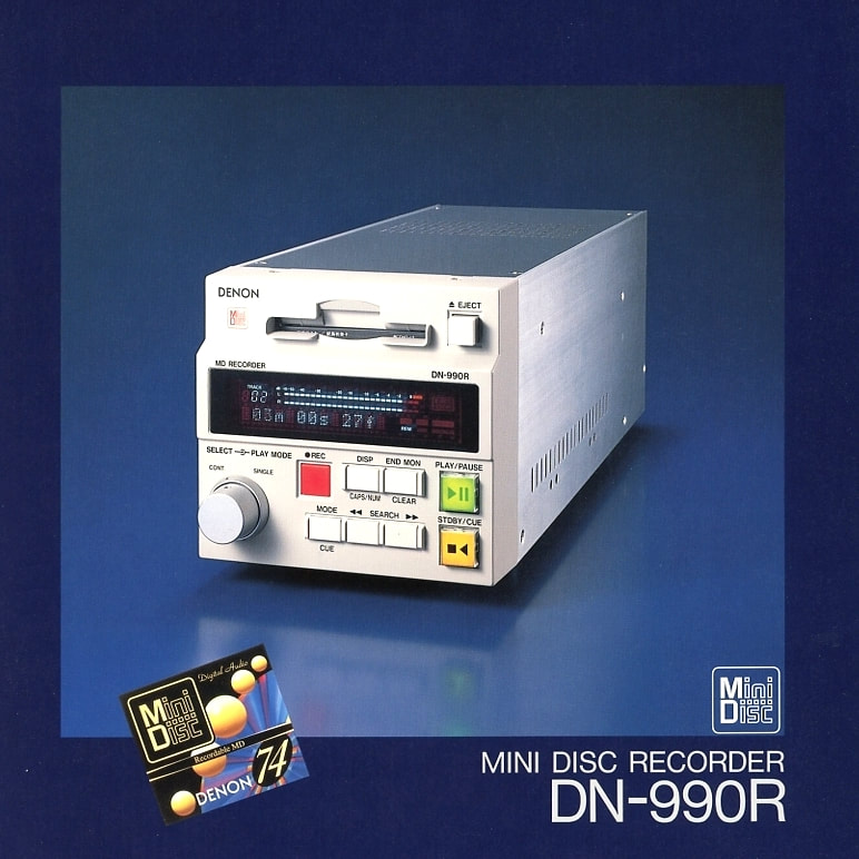 denon mini disc