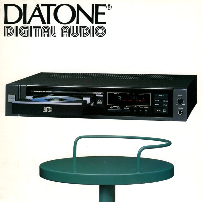 DIATONE cd player