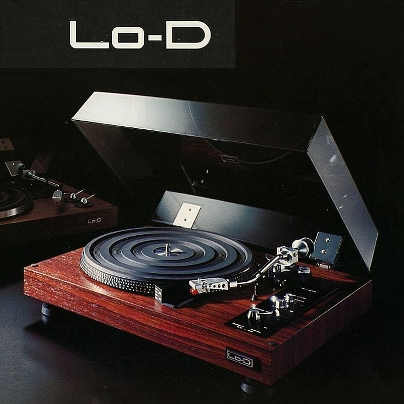 Lo-D turntable