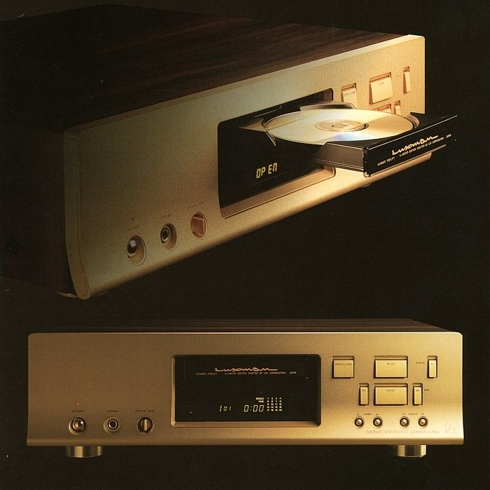 LUXMAN cd player