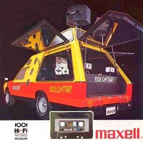 maxell compact cassette