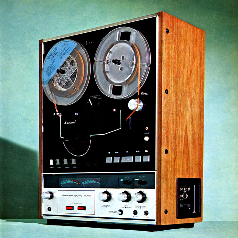 sansui reel to reel