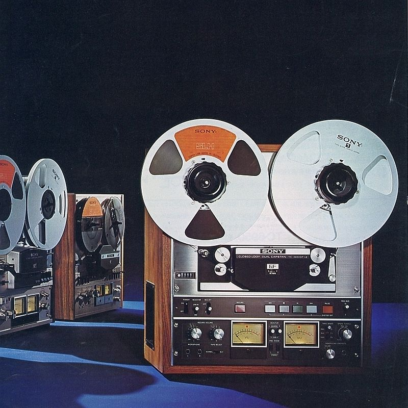 sony reel to reel
