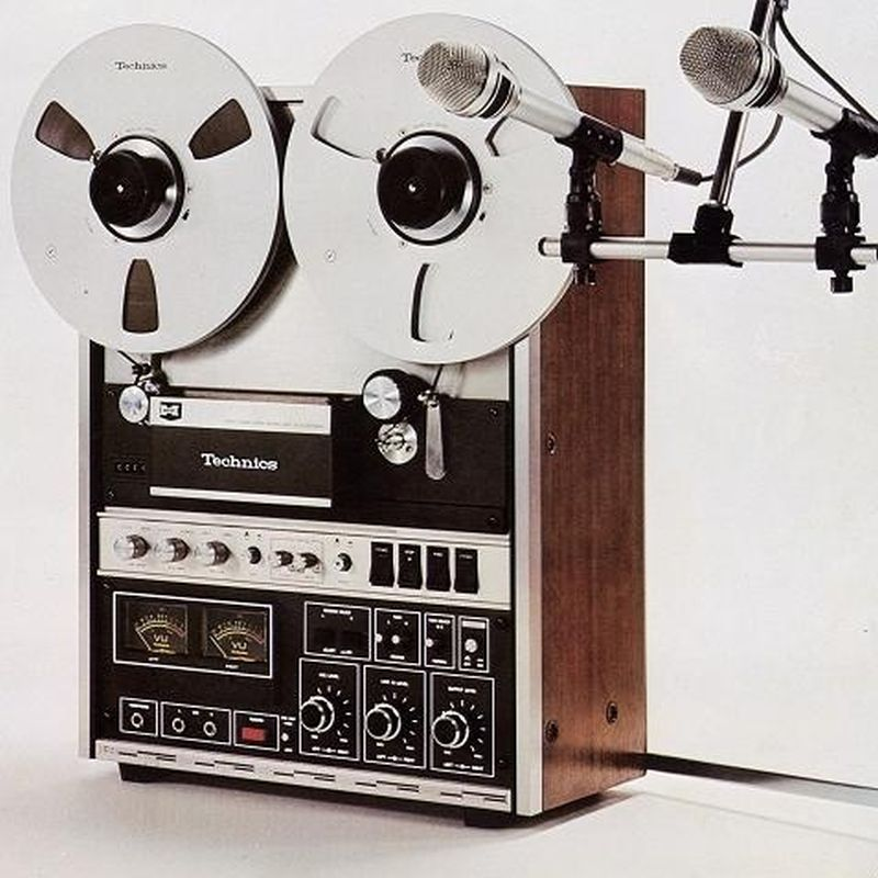 technics reel to reel